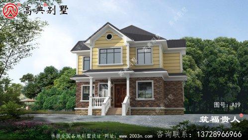 精致的二层小型别墅设计图美观精致,布局实用