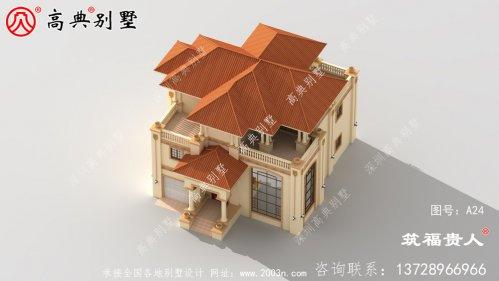 经典复式三层别墅设计图,布局完美