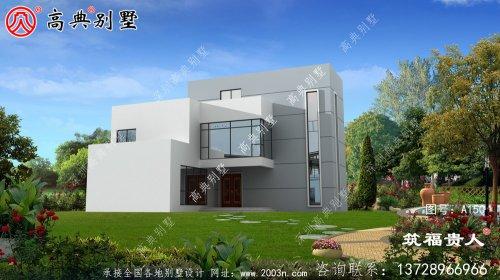 户型非常好的两层住宅设计图,经济实用性