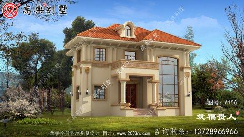 简易大气二层房屋设计图,光照优良,合理布局健全