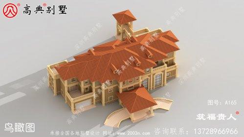 精典三层自建别墅设计图纸,合理布局好,定居