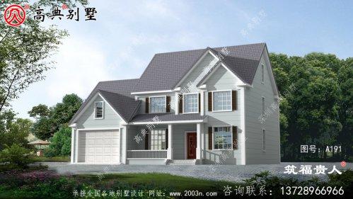 两层别墅设计图,美观大方别具一格