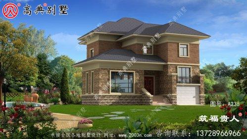 整洁又好用的两层小别墅设计图,农村自建房优