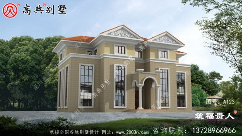 精致美观的三层自建住宅设计图