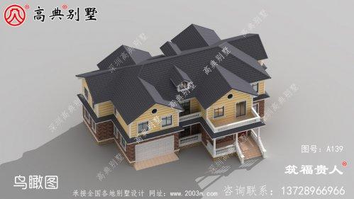 小型两层自建房屋设计图,经济实用。