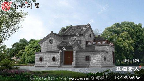 单层有院子小别墅的设计图,美观实用,最好自