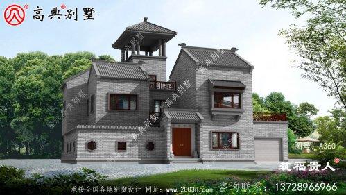 二层自建别墅精美设计图,简易整洁