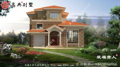 三层欧式别墅设计图,高大上,經典独栋别墅设