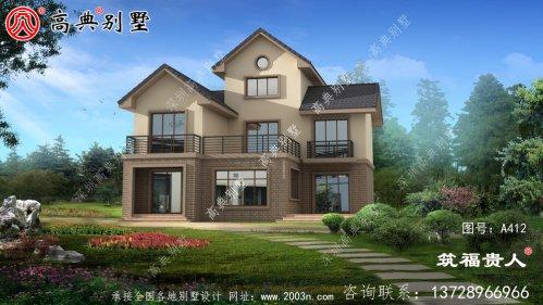 三层豪华别墅设计图、高级大气