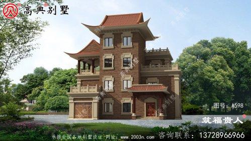 四层农村住宅设计图纸,端庄典雅