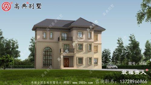 经典三层别墅设计图,农村三层别墅效果图
