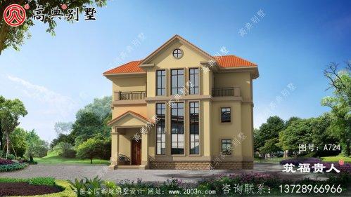 精致的三层别墅设计图房型很漂亮