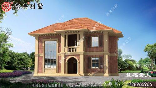 欧式两层别墅设计,高端大气,时尚