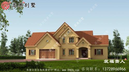 豪华户型别墅设计图,美式别墅