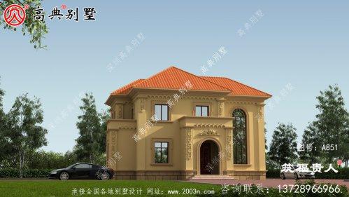 两层小别墅设计图纸,适合自建,是建筑的首选