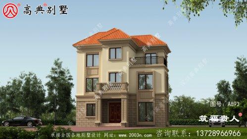 三层欧式风格别墅,带阳台