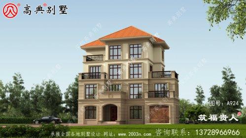 现代豪华四层别墅设计图