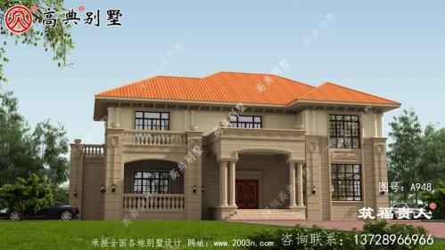 石材别墅,高档双层别墅设计图