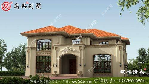 两层别墅设计图,适合许多家庭的需要