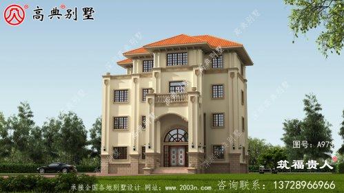 四层建筑设计,经典户型