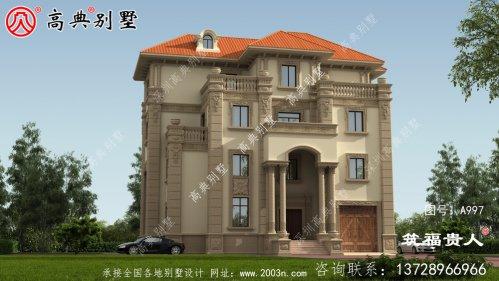 四层意大利风格豪华大气别墅设计图