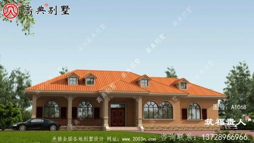 单层欧式风格住宅设计图