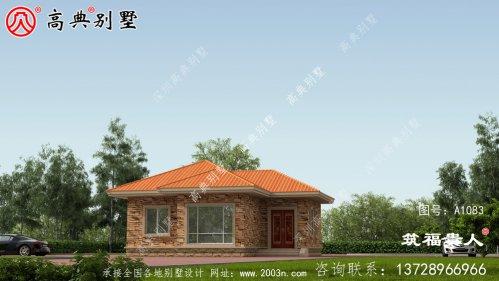 美观大方农村独栋别墅设计图