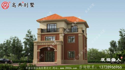三层新型奢华别墅设计图纸