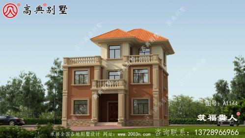 优雅舒适三层独栋别墅外观图