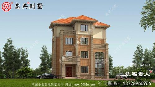 经济实用型四层农村别墅设计图,外观看起来非常