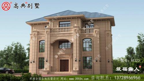 欧式三层小别墅设计图外观优雅
