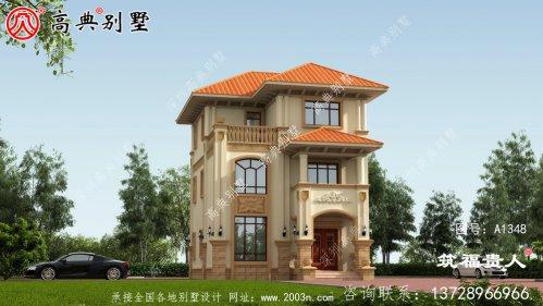 清新美观自建别墅设计