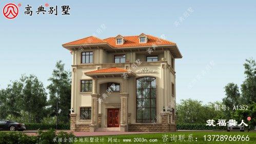 高端大气复式别墅设计图