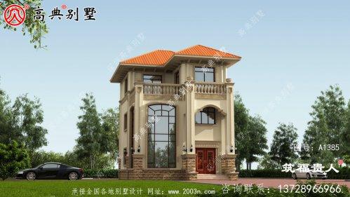 三层楼房外形设计图