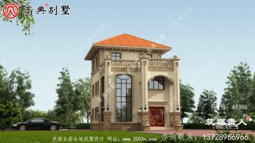 经典高端三层别墅设计