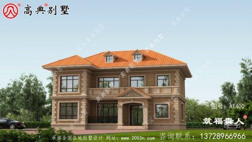 美丽实用的两层别墅设计