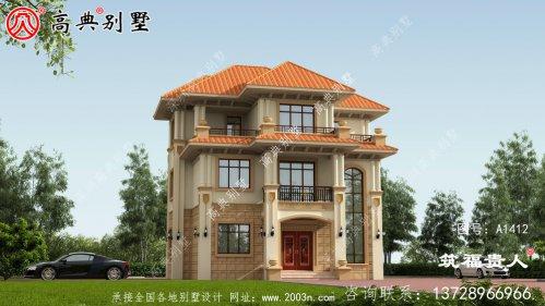 豪华的三层房子设计图
