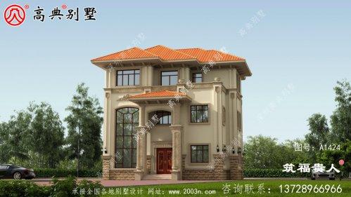 户型个性化的三层小别墅设计