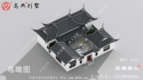 单层中式别墅设计图纸