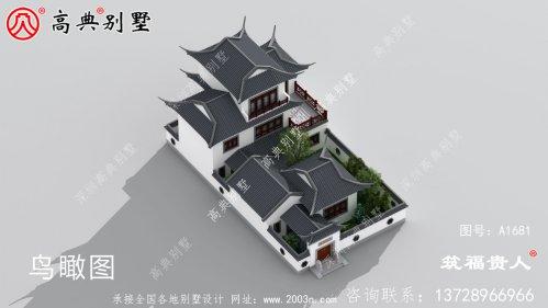 苏式园林别墅设计图纸