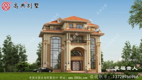 意大利风格四层别墅设计