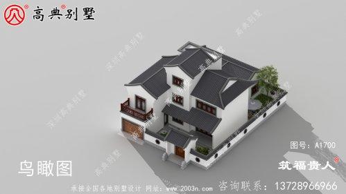 三层别墅设计图外观新颖