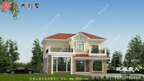 自建欧式两层别墅