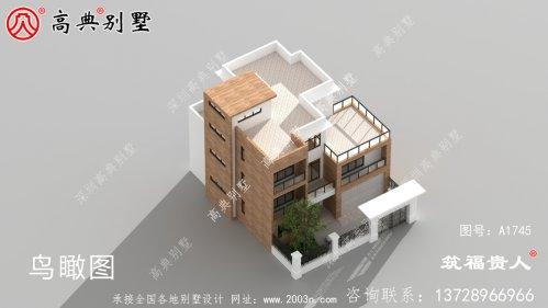 现代别墅色彩简洁清新,建筑设计感极强。