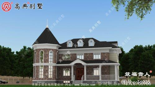 古典别墅设计图,温馨房屋图纸