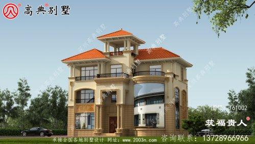 耐用又漂亮的三层别墅