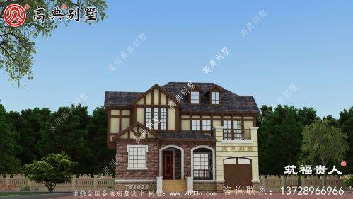 两层别墅设计图高大上,样式新奇