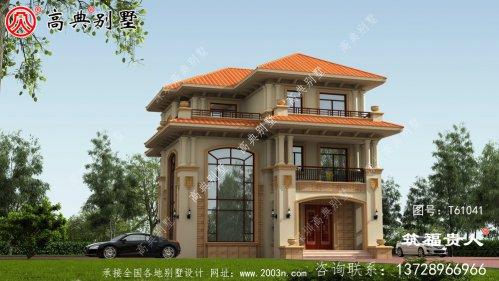 欧式三层别墅美观实用,值得建造。