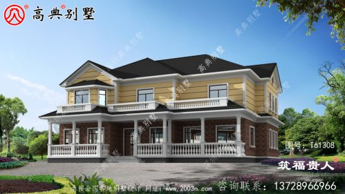 非常经典的别墅设计图