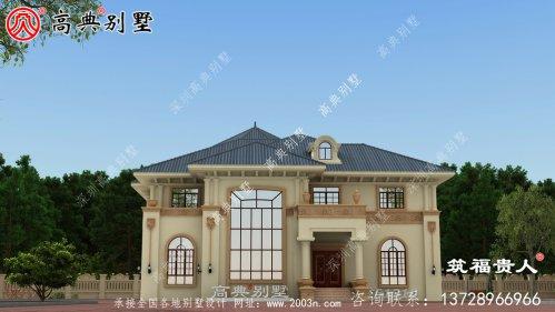 欧式风格两层别墅设计图